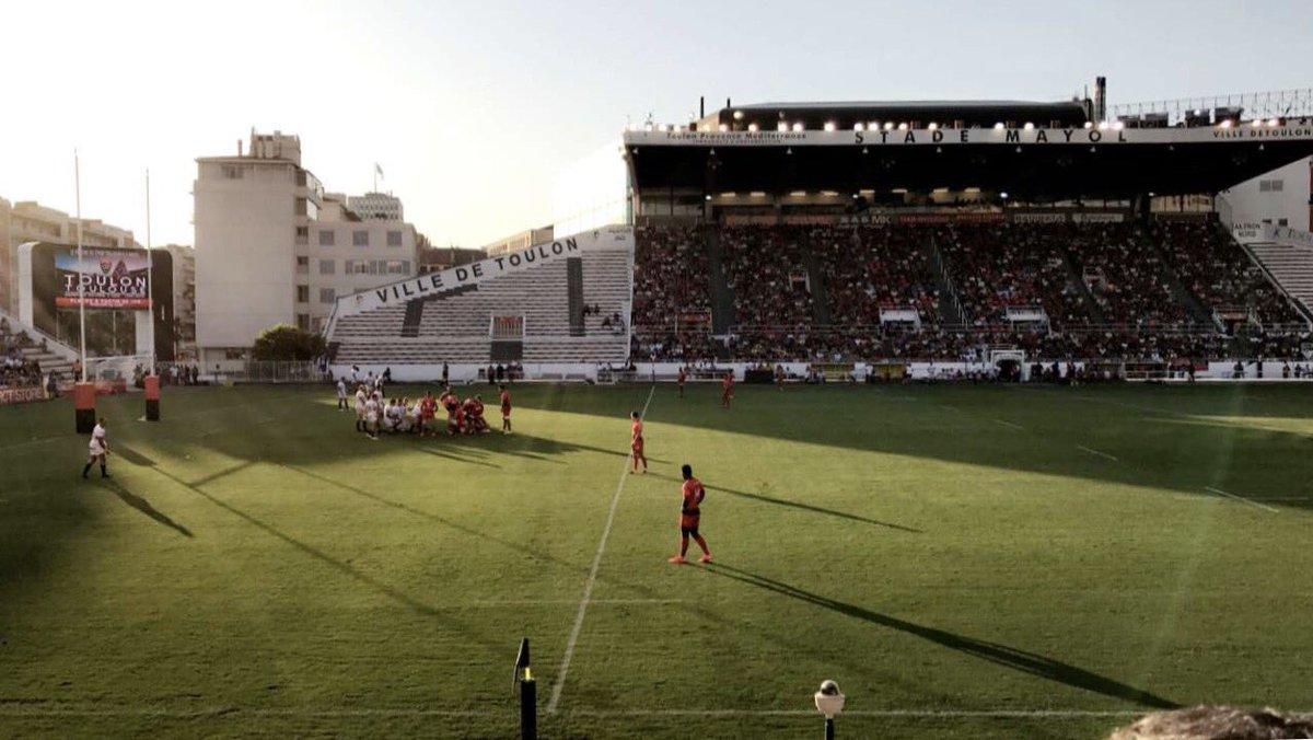 Match @RCTofficiel @LeLOURugby #rugby #toulon #lyon<br>http://pic.twitter.com/x6BaIEc103