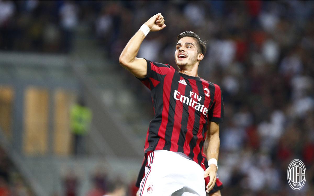 His first goal at San Siro ⚽️🔥 / Il suo primo gol a San Siro 🏟️ #Milan...