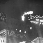 Happy #throwbackthursday.  Where did The Cascade Room get its name from? The beer without a peer. Photo from 1910s. #tbt