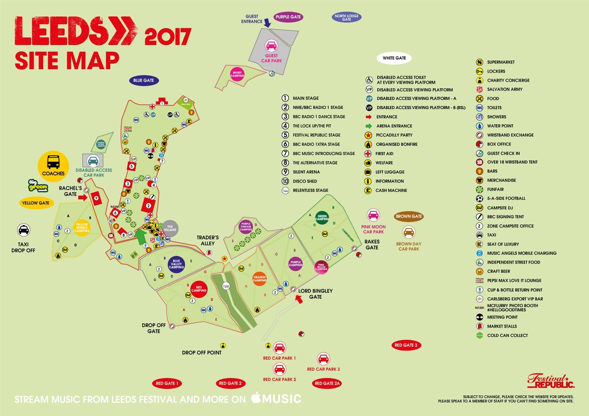 "Reading & Leeds Fest On Twitter: ""The Maps Are Live! 🗺 #RandL17…"