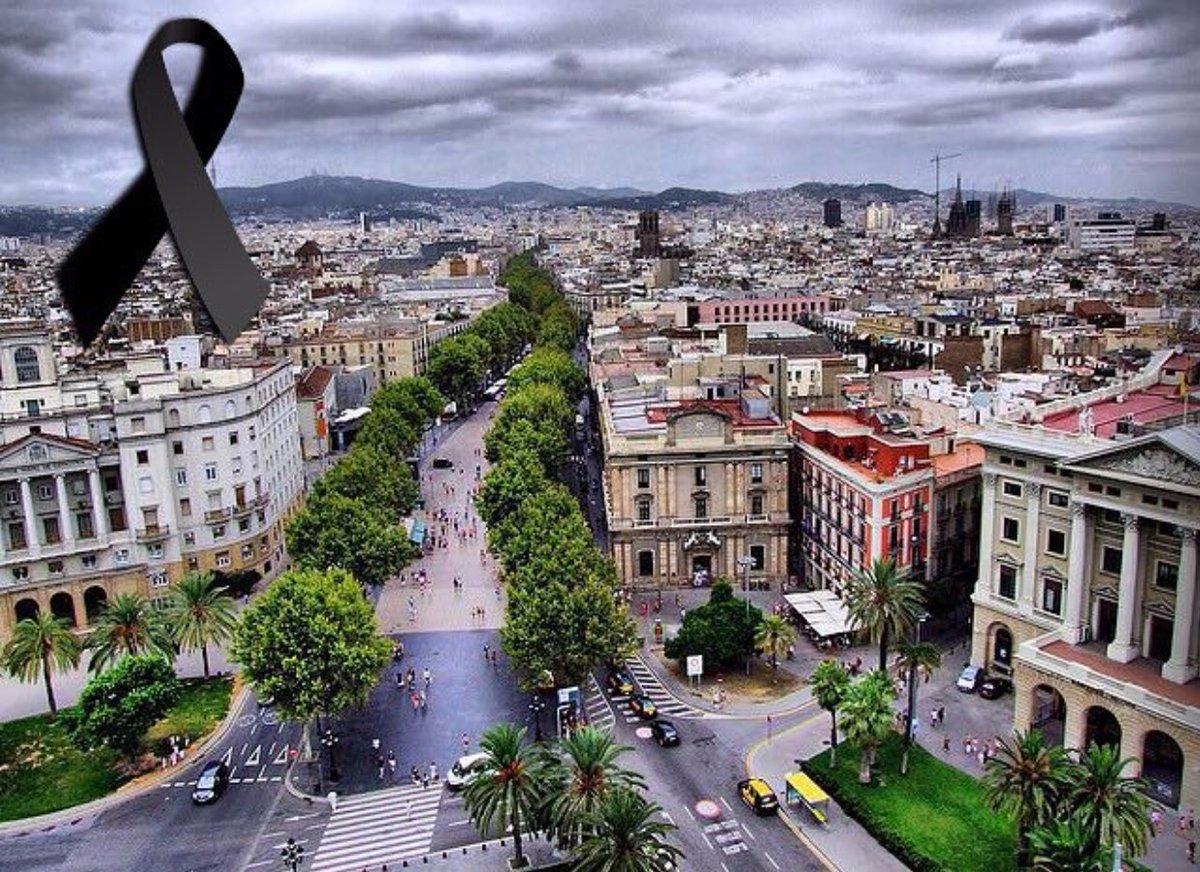 Paz en el mundo por favor. #BarcelonaAmbTu #PrayForBarcelona https://t...