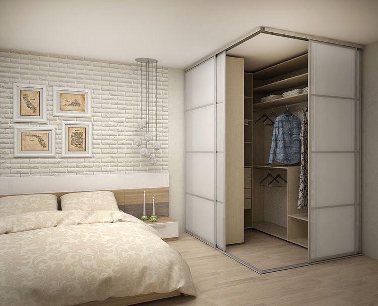 غرفة الملابس بطريقة جديدة رأيكم ؟