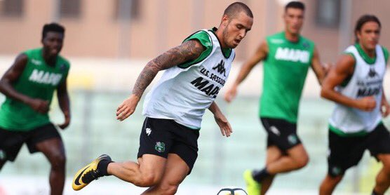 #Sassuolo midfielder Alfred Duncan is back training with the squad and should be available vs #Genoa<br>http://pic.twitter.com/5R8EwufeIo