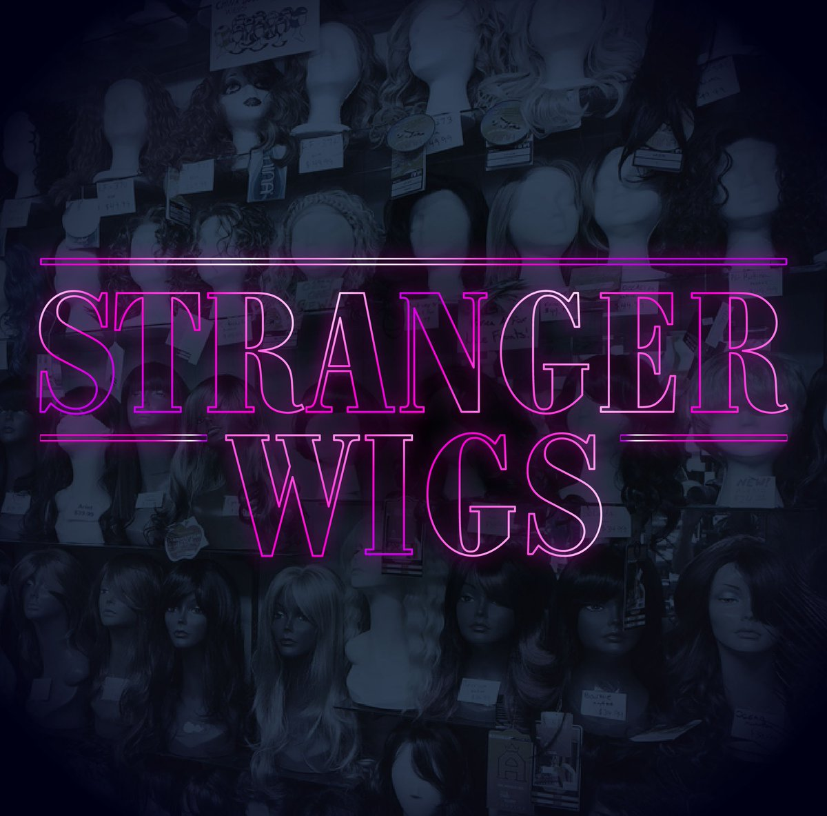 'Stranger Wigs'  Oh y'all wanted to go to the upside down? ☠️ #DragUPA...
