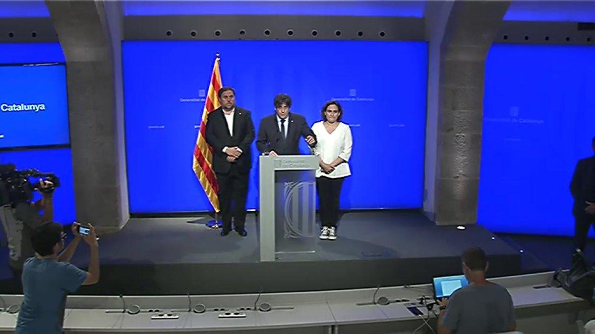 ▶️ Declaració institucional del #president @KRLS després de presidir el gabinet de crisi #Barcelona #Rambles https://t.co/XzbLS3JpCh