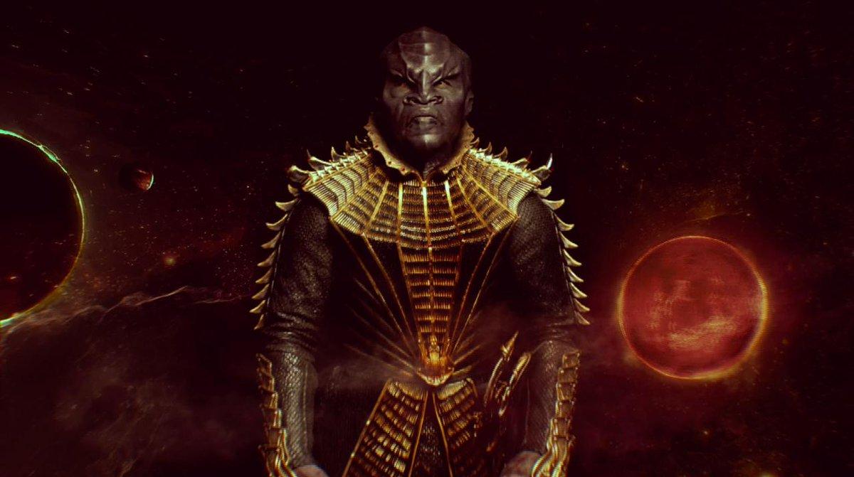 T'Kuvma, Klingon leader. Stream #StarTrekDiscovery starting Sept. 24 o...