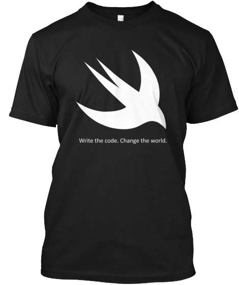 Swift Language Limited Edition T Shirt  http:// bit.ly/swiftee  &nbsp;   #swiftlang #programming #iosdev<br>http://pic.twitter.com/q4wbDVTiTi