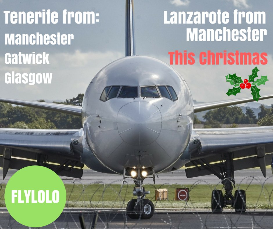 Fly to the Canaries this Christmas