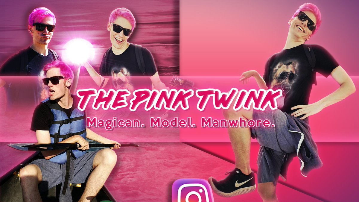 The pink twink