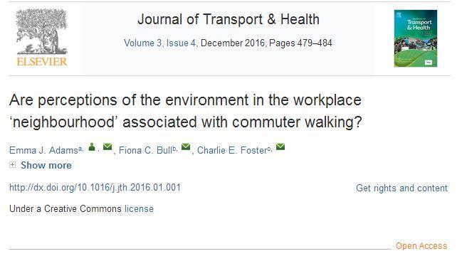 Want to make office workers healthier? Make it easier for them to walk to work  http:// bit.ly/2vMsanz  &nbsp;   #ActiveLiving #OA <br>http://pic.twitter.com/miijC4sMtu