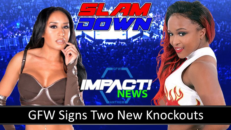 GFW News: GFW  Signs Two New Knockouts ( Kiera Hogan &amp; Hania )  https:// youtu.be/yGdOXMtWTxo  &nbsp;   #IMPACTonPOP #ImpactWrestling <br>http://pic.twitter.com/dr77QlcJWB