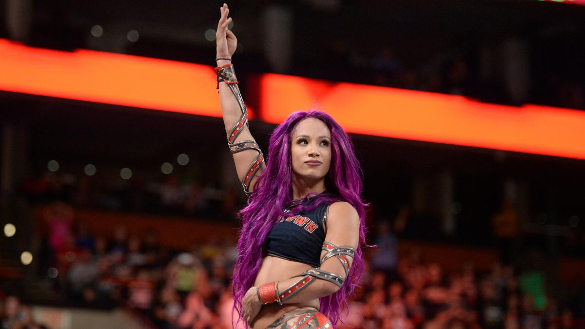 Sasha Banks  @SashaBanksWWE #TheBoss #SashaBanks #SashaKrew #LegitBoss #WWE #CatchRaw <br>http://pic.twitter.com/RwuIeCu7aT