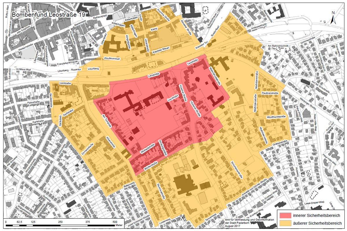 Karte Paderborn.Feuerwehr Paderborn On Twitter Eine Genauere Und Aktuelle