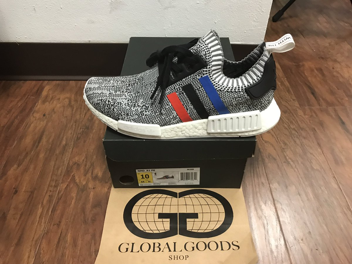 NEW TO SHOP: Adidas NMD &quot;Tri Color&quot; Size:10 Price:$200(SOLD) #globalgoodsshop #streetwear #boutique #hypebeast #sneakerhead #adidas #nmd<br>http://pic.twitter.com/jmLtLXWqNS