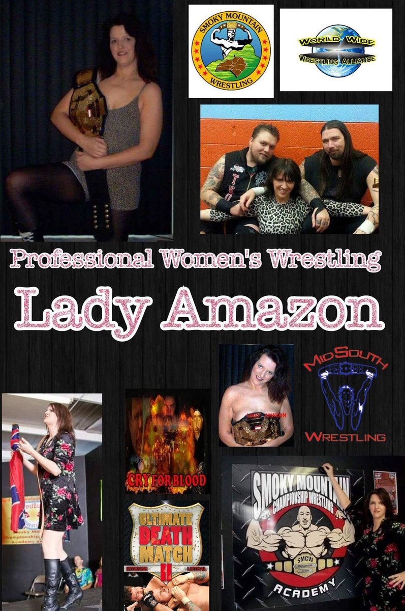 Client Announcment: Welcome @LadyAmazon4ever as our newest client! Can&#39;t wait to work with you! #wanderlust #wrestler #wrestling #ladyamazon<br>http://pic.twitter.com/1vUkzPRbVO