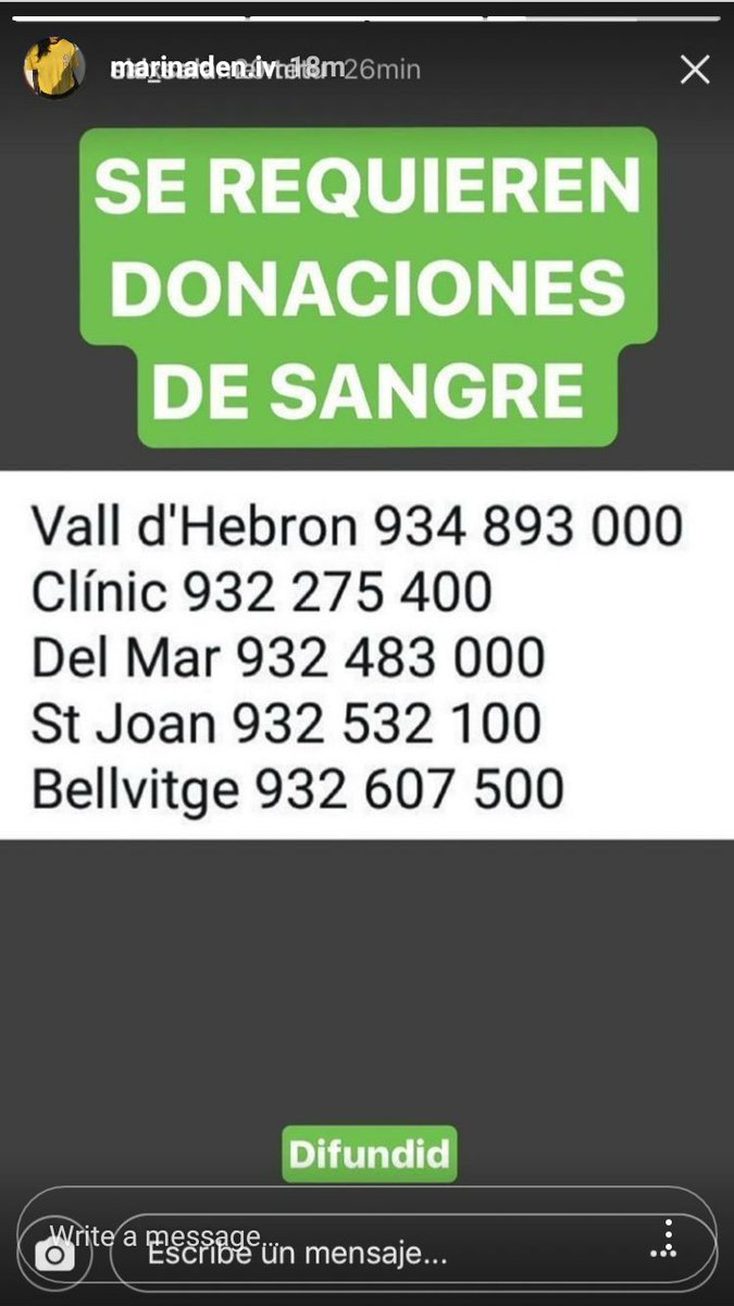 Busca #sangre #Barcelona #ramblas #TerroristAttack #BloodDonors please contact by the following #victimas #attaque <br>http://pic.twitter.com/bziUP8Th2G