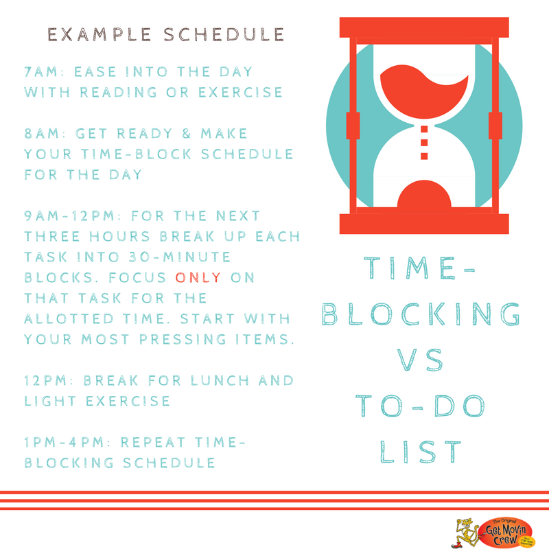 Have you tried time-blocking to help manage your daunting To-Do List? Check out an example schedule here: #timemanagement #organize <br>http://pic.twitter.com/Chq0Tm9Pqw