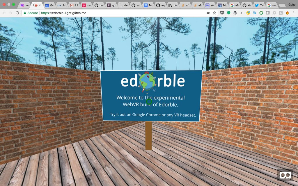What&#39;s that? An Edorble experience built on WebVR that works on almost any device and any VR headset? #vr #edtech #arvrinedu #vrinlearning<br>http://pic.twitter.com/IeuLLtcWSI