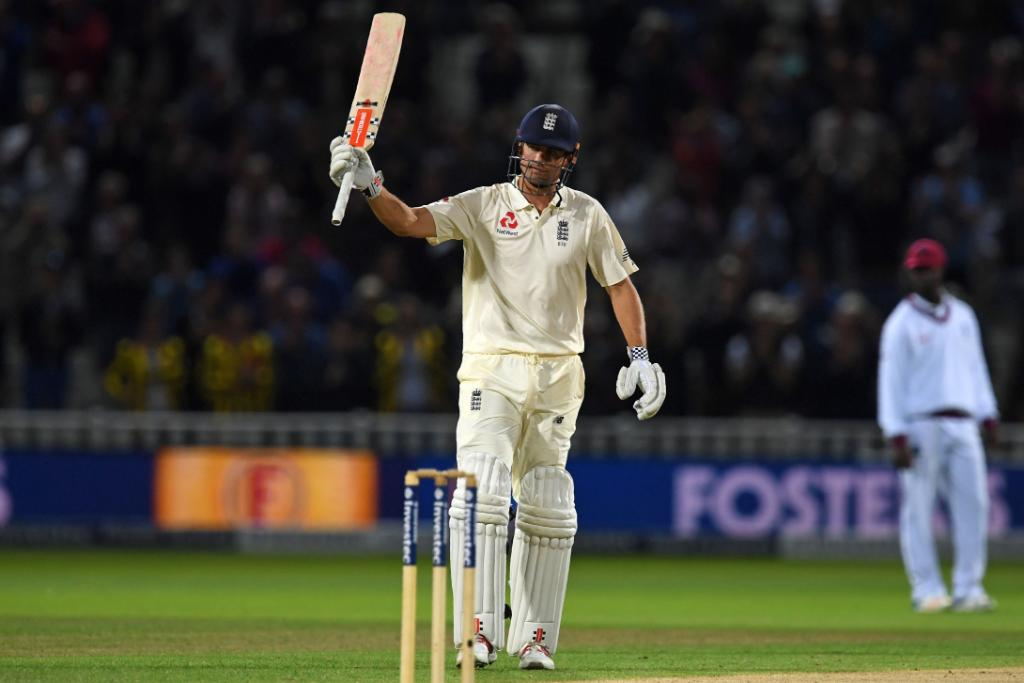 STUMPS: Alastair Cook 153* and we close Day 1 on 348/3 #ENGvWI  Match...