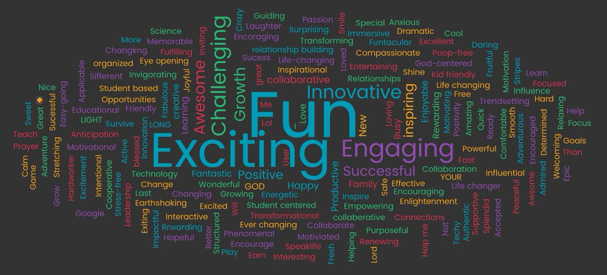 Expectations of the folks at #NETX17 for their 2017-18 school year. #share <br>http://pic.twitter.com/gqeJ2GlpAE