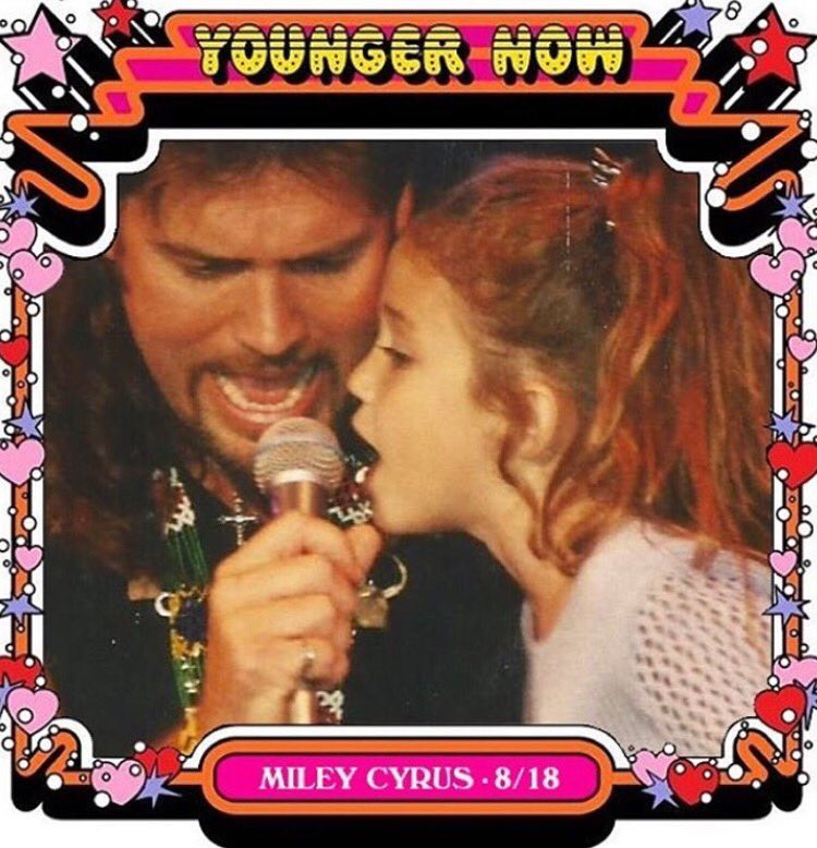 #YoungerNow out tomorrow!!!!!! So proud of you @MileyCyrus! #YoungerNo...