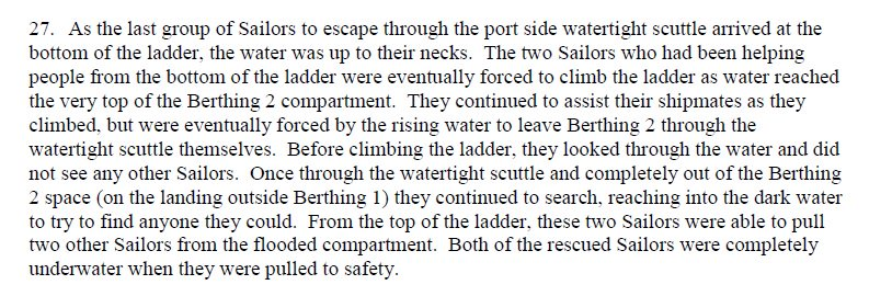 Good God. RIP to the seven lost sailors aboard the USS Fitzgerald. This from Navy docs released today, too.