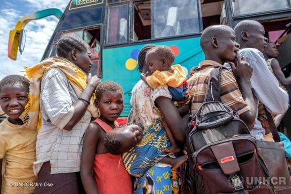 Refugiados do Sudão do Sul em Uganda já são mais de 1 milhão, alerta Acnur https://t.co/VQc37dQlCC (📷Jiro Ose/Acnur)