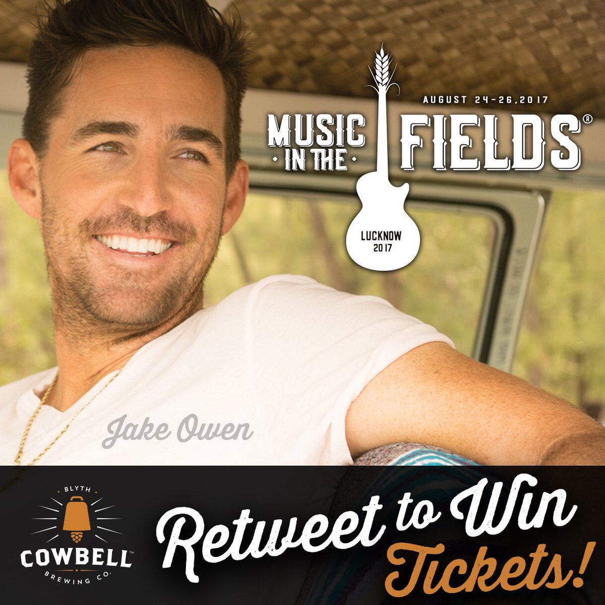RETWEET for a chance to #win #free #tickets @LucknowsMITF  http://www. musicinthefields.ca  &nbsp;    #seeyouthere #CountryMusic @jakeowen #cantwait<br>http://pic.twitter.com/PRYrKYlNbz