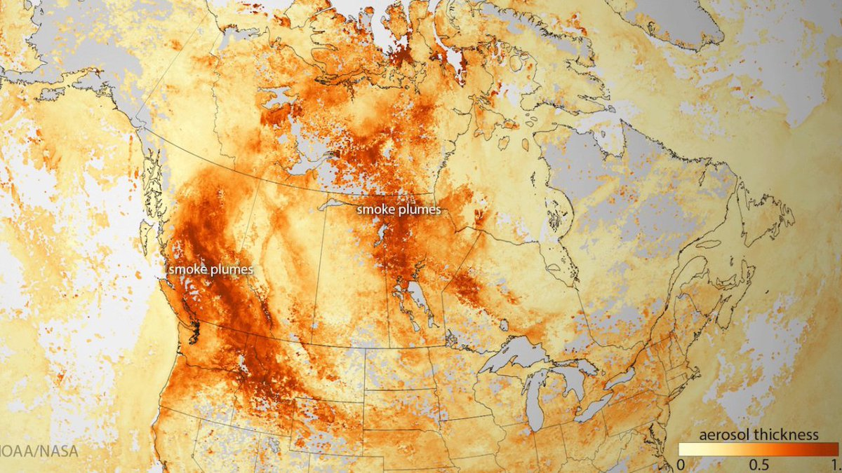 More fire, more fury: Canada is ablaze amid record heatwave https://t.co/DqYbwfEZvu