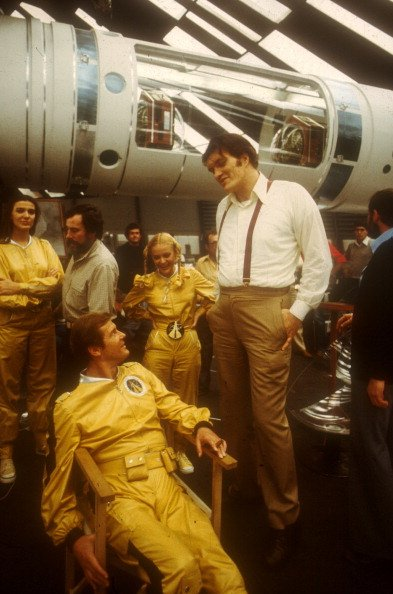 Behind the scenes of MOONRAKER (1979) #scifi #space <br>http://pic.twitter.com/dcqcxiVUgI