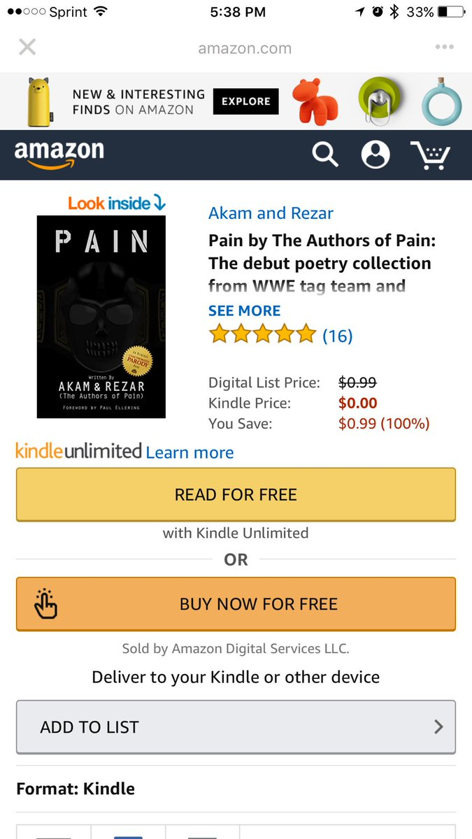 So a Reddit user created a book of poetry for the Authors of Pain because they are authors with no published work.  This is amazing! #NXT <br>http://pic.twitter.com/0ERzJNJLuH