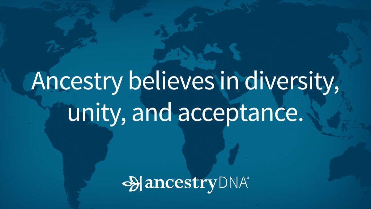 A message from Ancestry CEO Tim Sullivan: We stand united. https://t.co/KaGL8qvl08 #Ancestry https://t.co/3284p1TJsB