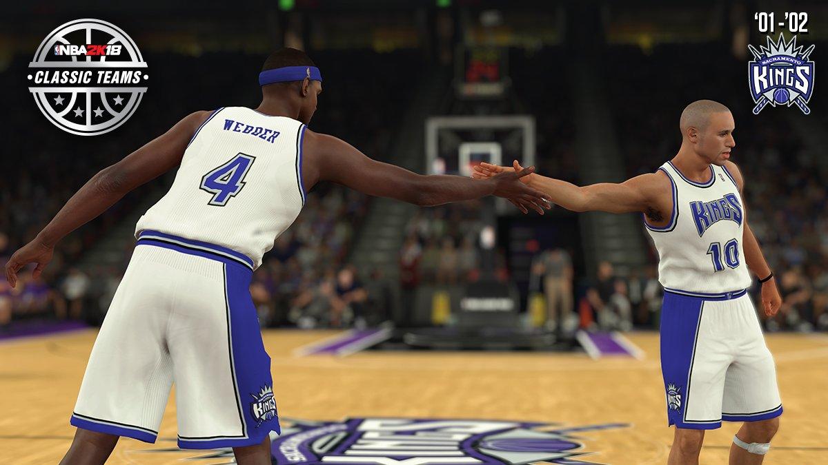 798768de0 2 More NBA 2K18 Classic Teams Announced -  03- 04 Lakers    01- 02 ...