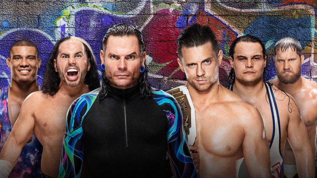 Jason Jordan, Jeff Hardy et Matt Hardy vs The Miz, Curtis Axel et Bo Dallas Prendra place en Pre Show de #SummerSlam #PPVAB1 #CatchRaw <br>http://pic.twitter.com/A6Yor5lgPD