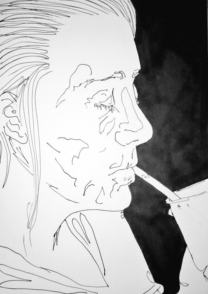 #Sketchbook work: 17/08/17 #Art #artist #drawing #ArtsNI #VisualArt #figure #portrait #IrishArt #pen #paper #marker #mixedmedia<br>http://pic.twitter.com/xYKtYQy01Q