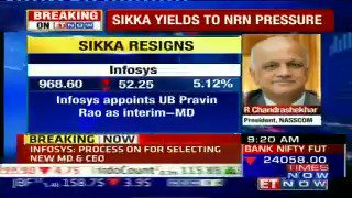 Vishal Sikka quits as Infosys MD & CEO; Pravin Rao appointed as th...