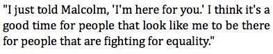 #Eagles Chris Long on putting his arm around Malcolm Jenkins during Je...