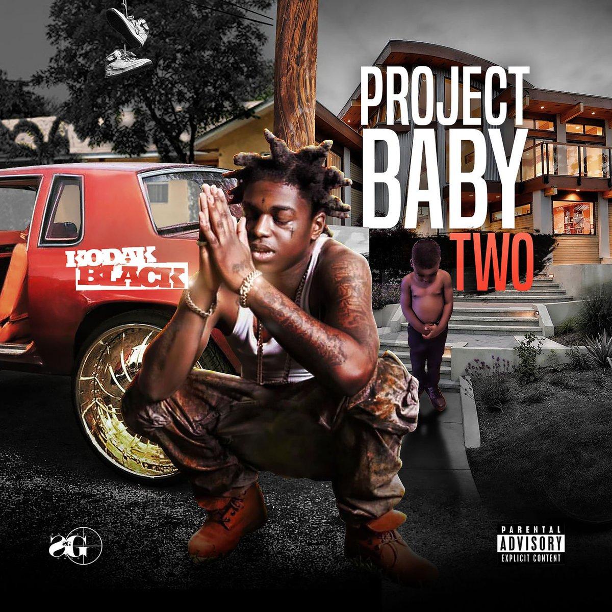 🚨 @KodakBlack1k's #ProjectBaby2 album is out now! 🚨  https://t.co/UXln...