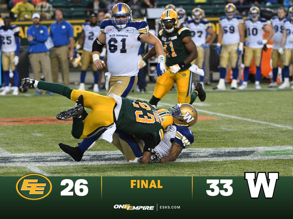 All good things must come to an end. #Esks come up a score short. #One...