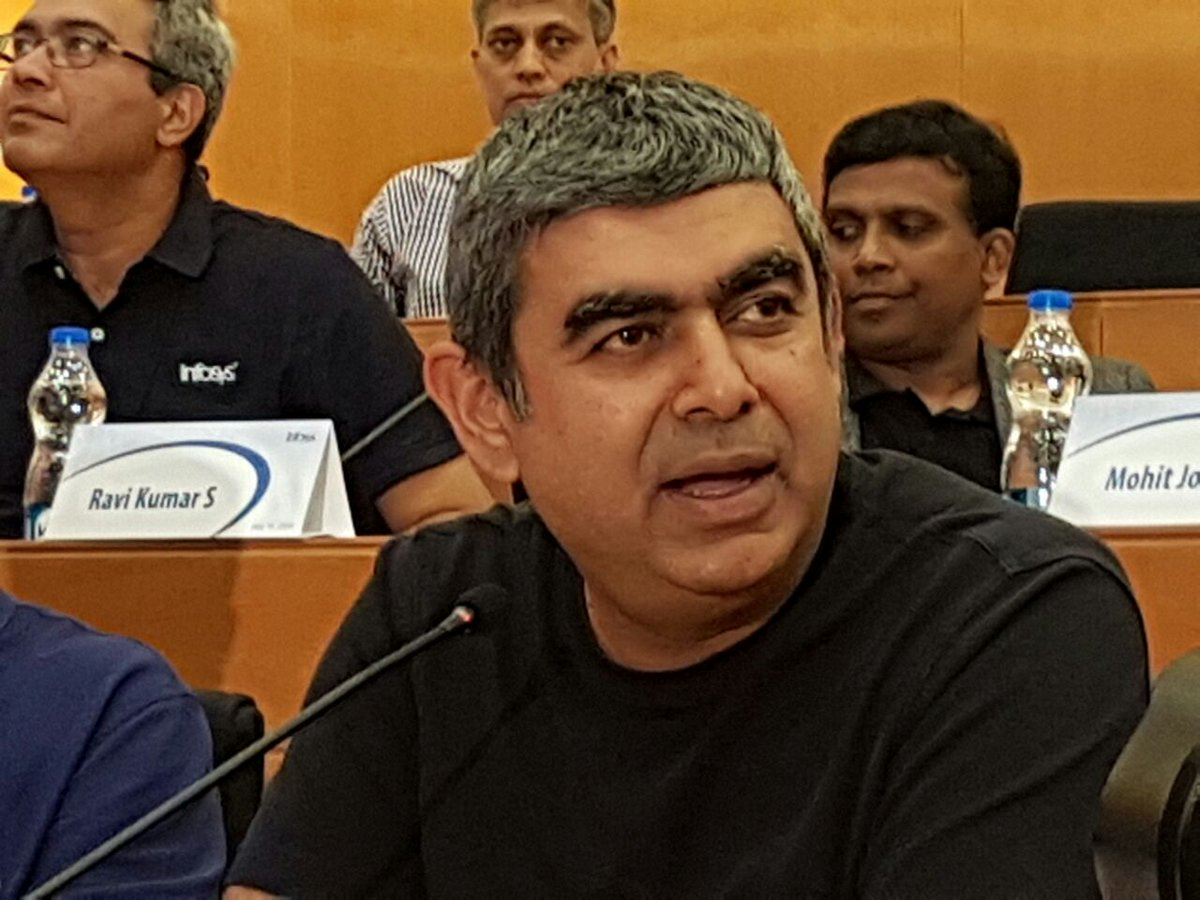 #BreakingNews | Infosys' CEO Vishal Sikka resigns, https://t.co/bBCsgi...