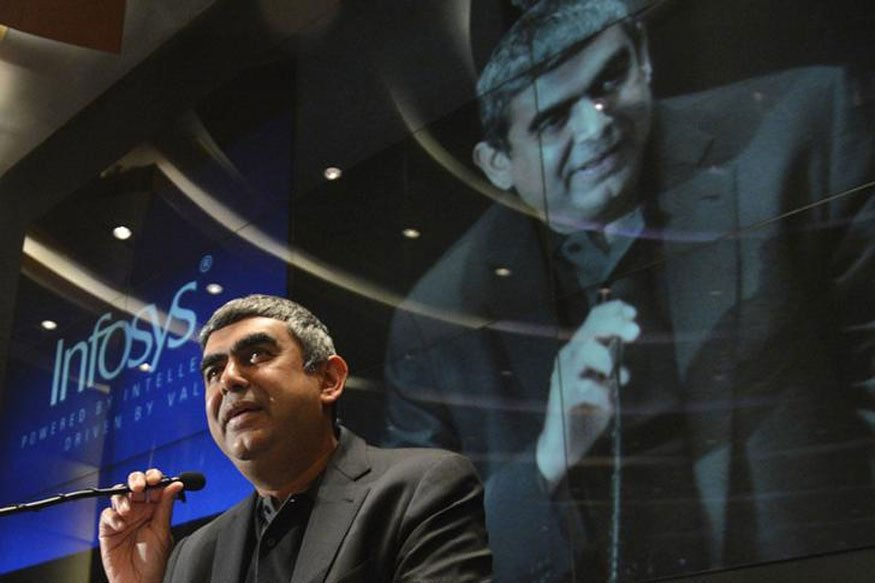 #BREAKING -- Vishal Sikka has resigned as MD and CEO of Infosys. Has b...