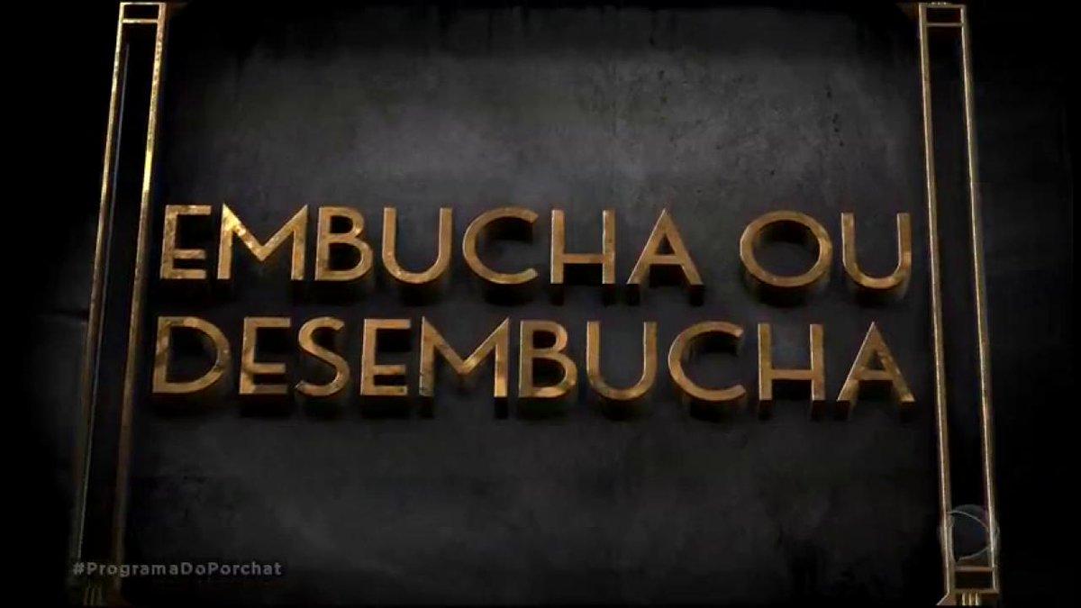 .@AlvaroGarnero enfrenta @FabioPorchat no 'Embucha ou Desembucha' #Pro...