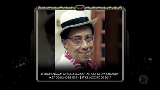 Homenagem do #ProgramaDoPorchat ao grande humorista Paulo Silvino, mor...