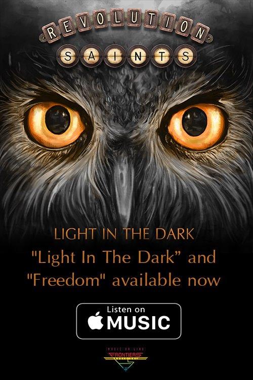 New #Revolution Saints song #Freedom OUT NOW! Head over to @AppleMusic to hear it!  http:// radi.al/LightInTheDark iTunes &nbsp; …  @DeenTheDrummer @dougaldrich<br>http://pic.twitter.com/joBnrq75l5