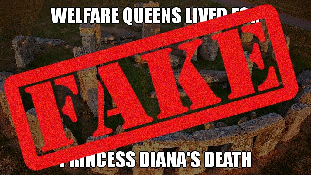 Debunked! Welfare queens did NOT live for Princess Diana&#39;s death @factcheckdotorg #fake #botactivity #troll #posttruth <br>http://pic.twitter.com/DkOhVA9Hvg