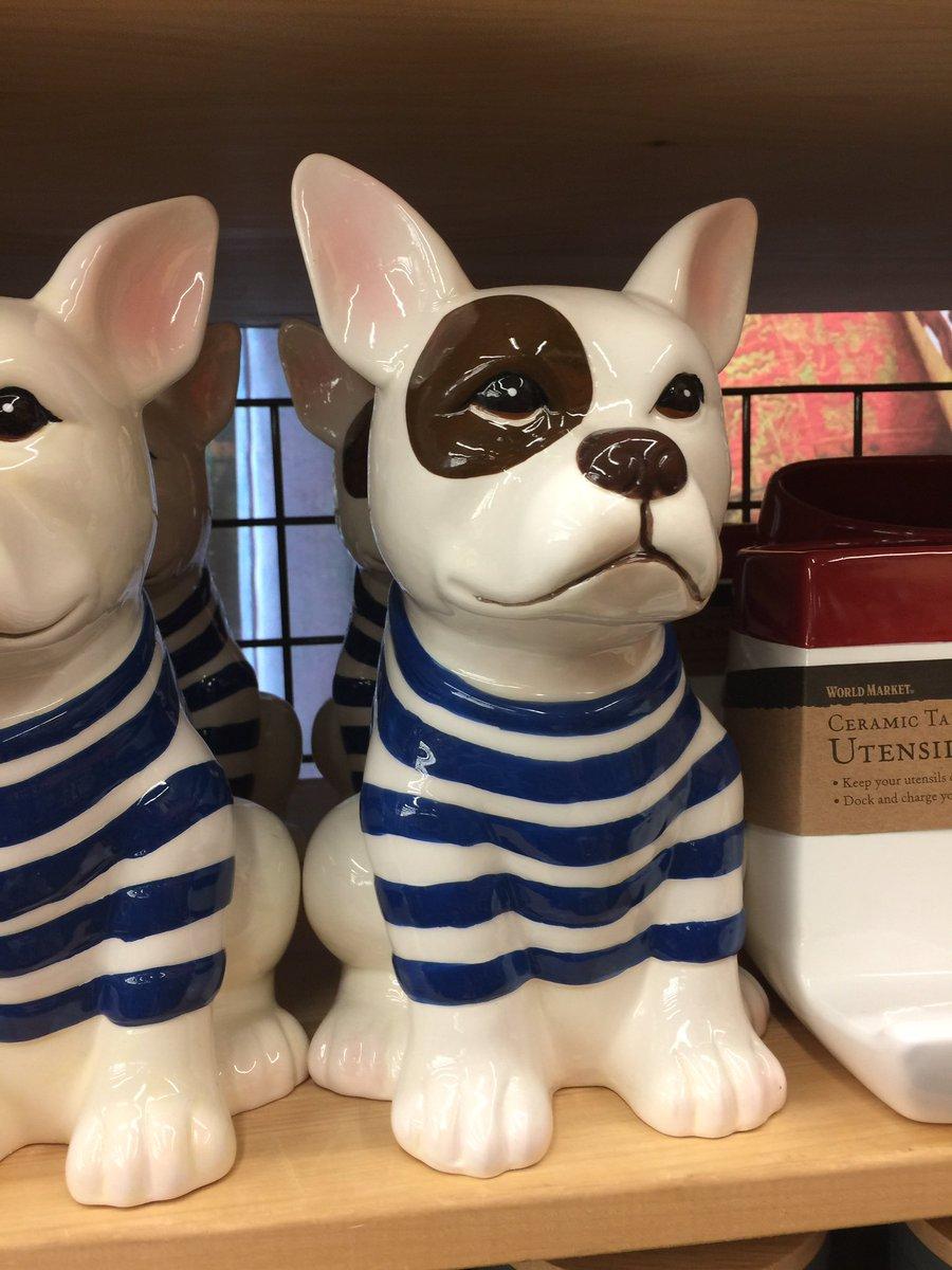 Boston Terrier Cookie Jar House Cookies