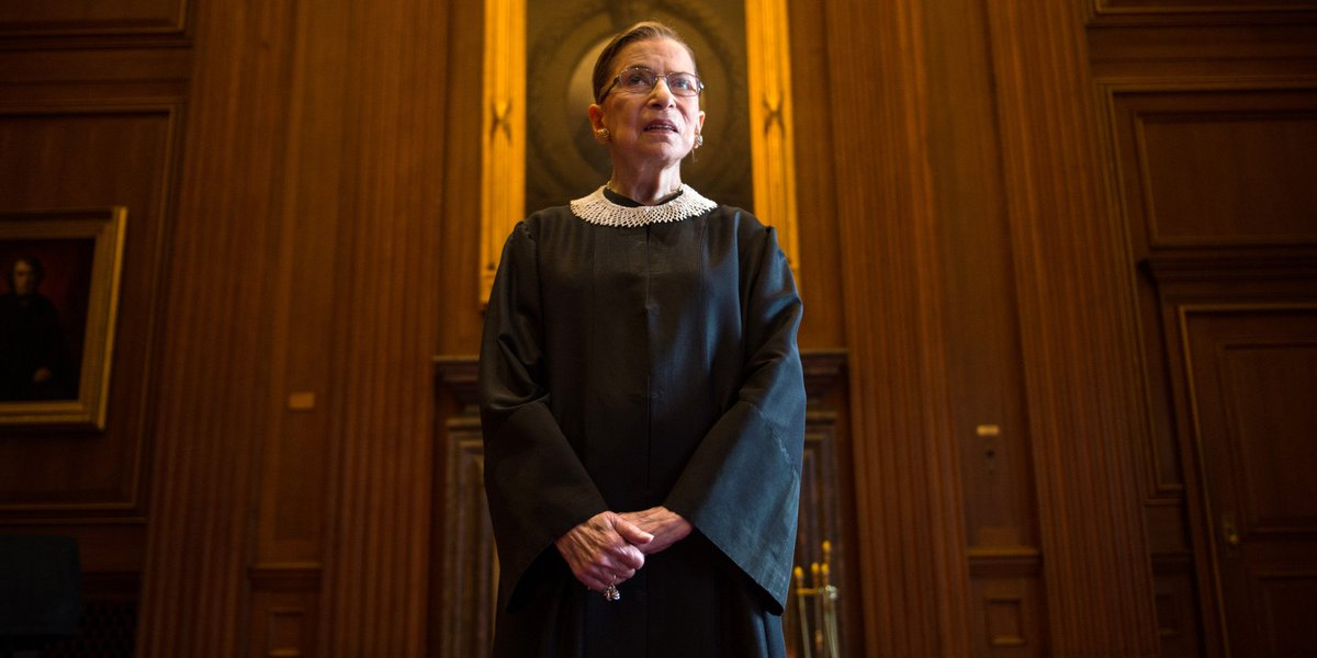 Ruth Bader Ginsburg predicts possible end to the #deathpenalty:  http://www. chron.com/news/houston-t exas/article/Ruth-Bader-Ginsburg-predicts-possible-end-to-11729635.php &nbsp; …  #BrokenBeyondRepair #RBG #SCOTUS<br>http://pic.twitter.com/fK54sAjeX4