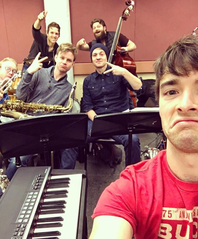 #Regram @NapOnACott: &quot;GUYS. The #DonnyNovaBand is having our first rehearsal with the orchestra and ITS. SO. DOPE. @bandstandbway&quot; #TBT<br>http://pic.twitter.com/2ZMBOLJi2J