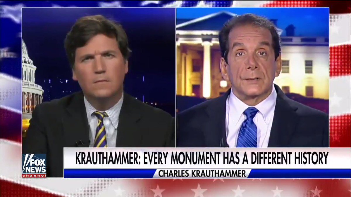 part of my interview with the wise @krauthammer