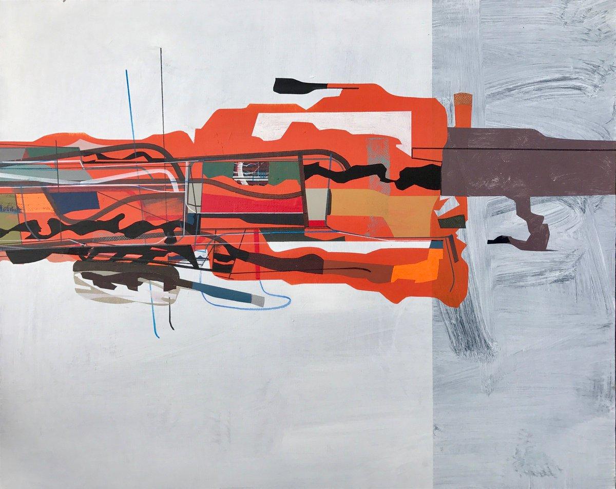 Jim Harris: The Sun King. Acrylic on canvas 2016  https://www. saatchiart.com/art/Painting-T he-Sun-King/292357/2895234/view &nbsp; …  #space #abstractart #kunst #schilderij #cosmos #painting #peinture <br>http://pic.twitter.com/FJi0D80vXT